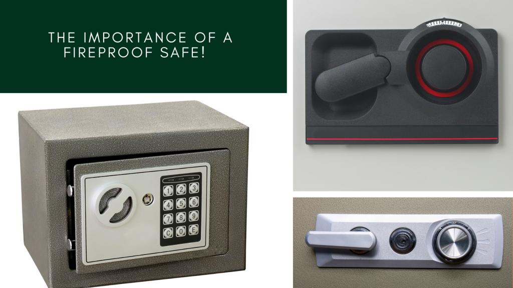 The Importance of a Fireproof Safe! - Sherman Oaks Lock & Safe